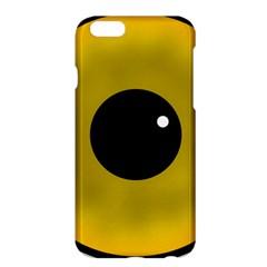 Big Eye Red Black Apple Iphone 6 Plus/6s Plus Hardshell Case by Alisyart