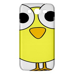 Bird Big Eyes Yellow Green Samsung Galaxy Mega 5 8 I9152 Hardshell Case  by Alisyart