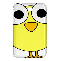 Bird Big Eyes Yellow Green Samsung Galaxy Tab 3 (7 ) P3200 Hardshell Case  by Alisyart