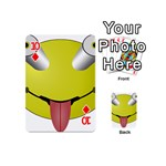 Bug Eye Tounge Playing Cards 54 (Mini)  Front - Diamond10