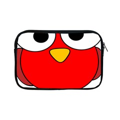 Bird Big Eyes Red Apple Ipad Mini Zipper Cases by Alisyart