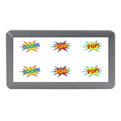 Boom Pow Pop Sign Memory Card Reader (mini) by Alisyart