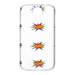 Boom Pow Pop Sign Samsung Galaxy S4 Classic Hardshell Case (pc+silicone) by Alisyart