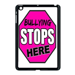 Bullying Stops Here Pink Sign Apple Ipad Mini Case (black) by Alisyart
