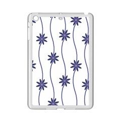 Geometric Flower Seamless Repeating Pattern With Curvy Lines Ipad Mini 2 Enamel Coated Cases by Simbadda