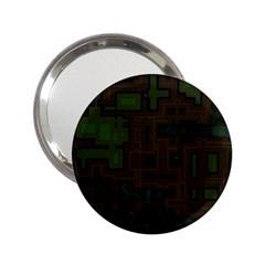 Circuit Board A Completely Seamless Background Design 2 25  Handbag Mirrors by Simbadda