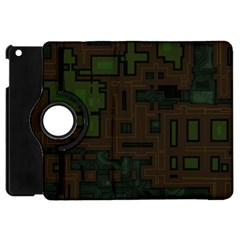 Circuit Board A Completely Seamless Background Design Apple Ipad Mini Flip 360 Case by Simbadda