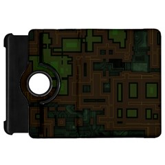 Circuit Board A Completely Seamless Background Design Kindle Fire Hd 7  by Simbadda