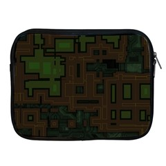 Circuit Board A Completely Seamless Background Design Apple Ipad 2/3/4 Zipper Cases by Simbadda