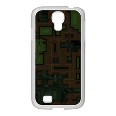Circuit Board A Completely Seamless Background Design Samsung Galaxy S4 I9500/ I9505 Case (white) by Simbadda