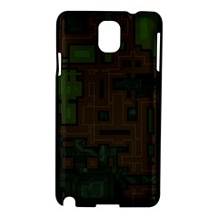 Circuit Board A Completely Seamless Background Design Samsung Galaxy Note 3 N9005 Hardshell Case by Simbadda
