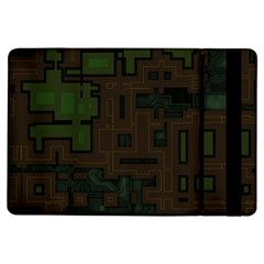 Circuit Board A Completely Seamless Background Design Ipad Air Flip by Simbadda