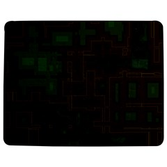 Circuit Board A Completely Seamless Background Design Jigsaw Puzzle Photo Stand (rectangular) by Simbadda