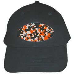 Camouflage Texture Patterns Black Cap by Simbadda
