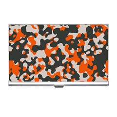Camouflage Texture Patterns Business Card Holders by Simbadda