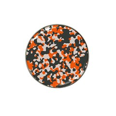 Camouflage Texture Patterns Hat Clip Ball Marker (4 Pack) by Simbadda