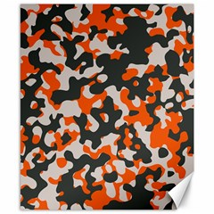 Camouflage Texture Patterns Canvas 8  X 10  by Simbadda