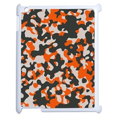 Camouflage Texture Patterns Apple Ipad 2 Case (white) by Simbadda