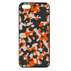 Camouflage Texture Patterns Apple Iphone 5 Seamless Case (black) by Simbadda
