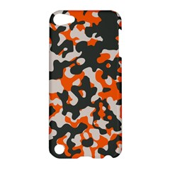 Camouflage Texture Patterns Apple Ipod Touch 5 Hardshell Case by Simbadda