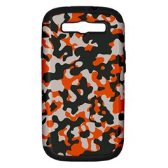 Camouflage Texture Patterns Samsung Galaxy S Iii Hardshell Case (pc+silicone) by Simbadda