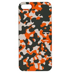 Camouflage Texture Patterns Apple Iphone 5 Hardshell Case With Stand by Simbadda
