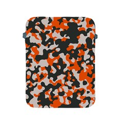 Camouflage Texture Patterns Apple Ipad 2/3/4 Protective Soft Cases by Simbadda