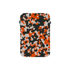 Camouflage Texture Patterns Apple Ipad Mini Protective Soft Cases by Simbadda
