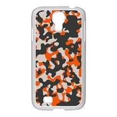 Camouflage Texture Patterns Samsung Galaxy S4 I9500/ I9505 Case (white) by Simbadda