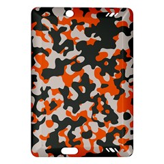 Camouflage Texture Patterns Amazon Kindle Fire Hd (2013) Hardshell Case by Simbadda