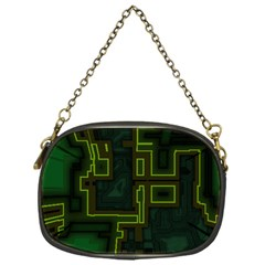 A Completely Seamless Background Design Circuit Board Chain Purses (one Side)  by Simbadda