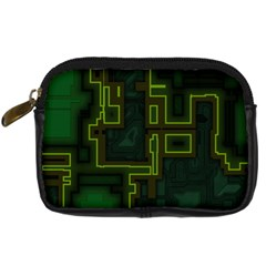 A Completely Seamless Background Design Circuit Board Digital Camera Cases by Simbadda