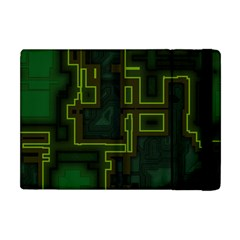 A Completely Seamless Background Design Circuit Board Apple Ipad Mini Flip Case by Simbadda