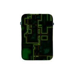 A Completely Seamless Background Design Circuit Board Apple Ipad Mini Protective Soft Cases by Simbadda