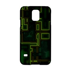 A Completely Seamless Background Design Circuit Board Samsung Galaxy S5 Hardshell Case  by Simbadda