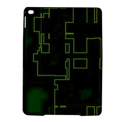 A Completely Seamless Background Design Circuit Board Ipad Air 2 Hardshell Cases by Simbadda