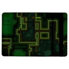 A Completely Seamless Background Design Circuit Board Ipad Air 2 Flip by Simbadda