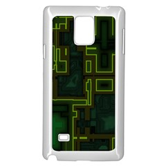 A Completely Seamless Background Design Circuit Board Samsung Galaxy Note 4 Case (white) by Simbadda