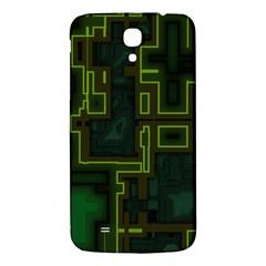 A Completely Seamless Background Design Circuit Board Samsung Galaxy Mega I9200 Hardshell Back Case by Simbadda