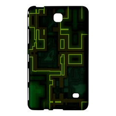 A Completely Seamless Background Design Circuit Board Samsung Galaxy Tab 4 (7 ) Hardshell Case  by Simbadda