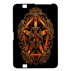 3d Fractal Jewel Gold Images Kindle Fire Hd 8 9  by Simbadda