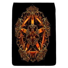 3d Fractal Jewel Gold Images Flap Covers (s)  by Simbadda