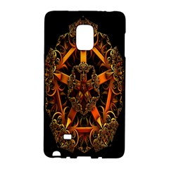 3d Fractal Jewel Gold Images Galaxy Note Edge by Simbadda