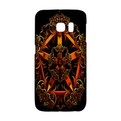 3d Fractal Jewel Gold Images Galaxy S6 Edge by Simbadda