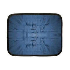 Zoom Digital Background Netbook Case (small)  by Simbadda