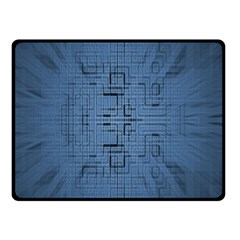Zoom Digital Background Fleece Blanket (small) by Simbadda