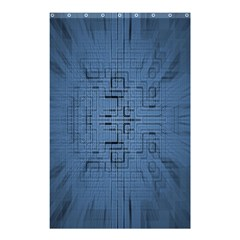 Zoom Digital Background Shower Curtain 48  X 72  (small)  by Simbadda