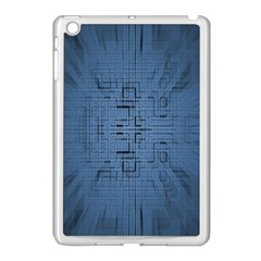 Zoom Digital Background Apple Ipad Mini Case (white) by Simbadda