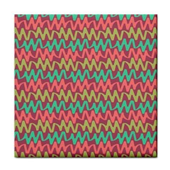 Abstract Seamless Abstract Background Pattern Tile Coasters by Simbadda