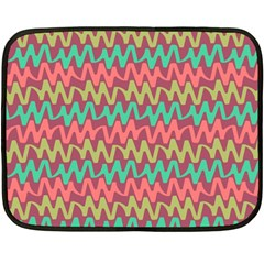Abstract Seamless Abstract Background Pattern Fleece Blanket (mini) by Simbadda